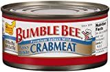 Bumble Bee Crab Meat, Fancy White, 6 Ounce