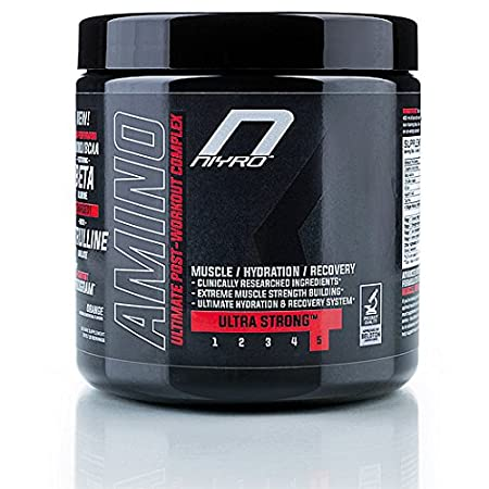 Niyro Nutrition - Amino Post-Workout - Muscle, Hydration & Recovery – Ultra Strong Supplement (300g Lemon)