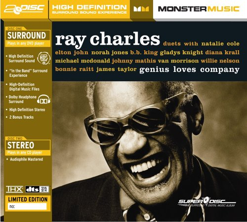 Ray Charles - Genius Loves Company (SuperDisc) (Best Of Billy Preston compare prices)