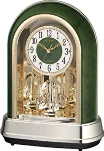 CITIZEN (シチズン) 置時計 パルドリームR427 電波時計 12曲毎正時メロディ 4RN427-005