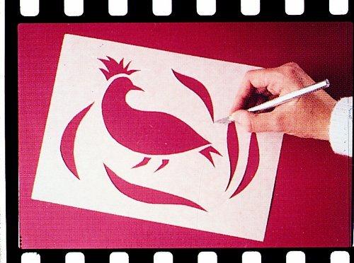 Scratch-Art Art And Craft Wax-O Stencil Paper