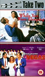 While You Were Sleeping/Honeymoon in Vegas [VHS]