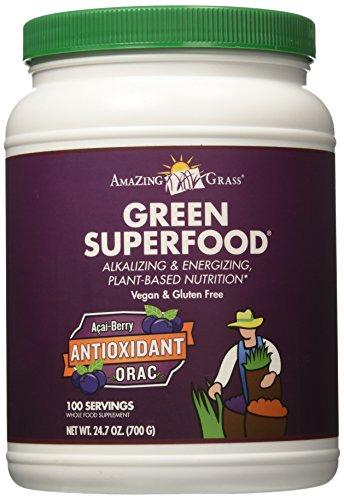 超强抗氧化 Amazing Grass ORAC 排毒养颜绿色食物粉 24.7oz