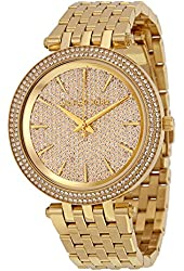 Michael Kors Women's Darci Watch, Gold, One Size