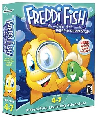 Freddi Fish: The Case of the Haunted Schoolhouse - PC/Mac
