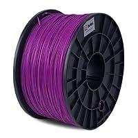 BuMat ABSPP 1.75mm, 1kg, 2.2lb Purple Filament Printing Material Supply Spool for 3D Printer by BuMat