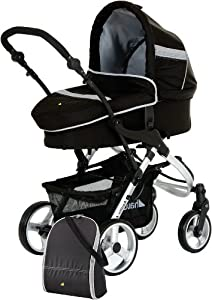 Hauck Apollo Stroller All In One Travel System, Night