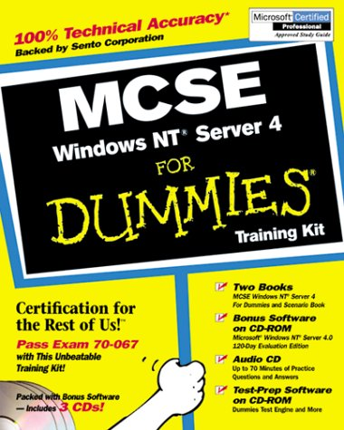 McSe Windows Nt Server 4 for Dummies: Training Kit