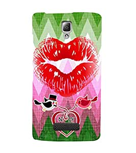 EPICCASE oh love Mobile Back Case Cover For Lenovo K860 (Designer Case)