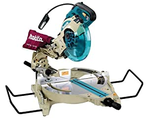 Makita LS1013FL 15 Amp 10-Inch Dual Bevel Compound Sliding Miter Saw with Laser and Fluorescent Light