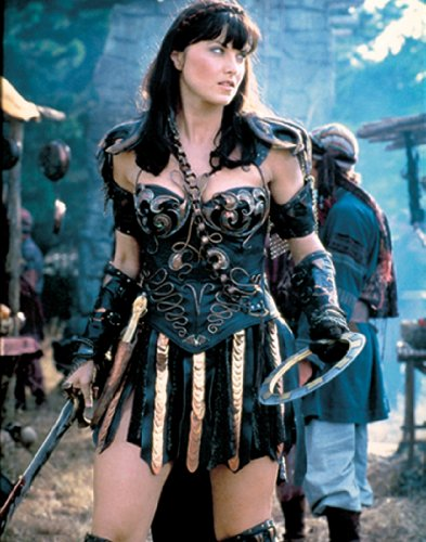 Xena Warrior Princess Standing Pose Cult Favorite Fantasy Action TV Television Show Print Poster 11x14
