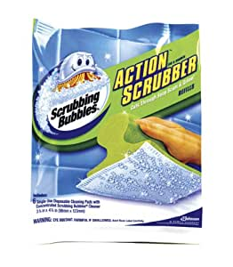 Scrubbing Bubbles Action Scrubber Refills - One 6 ct package.