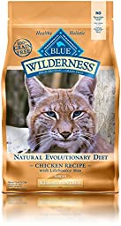 Blue Buffalo Cat Weight Control 100-Percent Grain Free Chicken Formula Dry Cat Food, 5 lb Bag