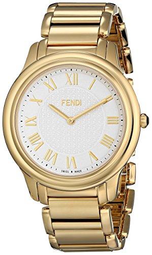 Fendi Classico Men's 40mm Gold Steel Bracelet & Case Quartz Watch F251414000