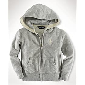 Baby's Store | Ralph Lauren Little Girl Zip-Up Hoodie