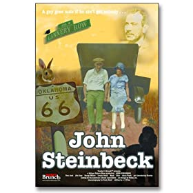 John Steinbeck Favorite Author Movie Poster. Laminated Educational Art Print