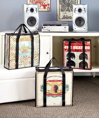 A-SET-OF-3-RECORD-ALBUM-STORAGE-CASES-Each-Case-Hold-28-Standard-Vinyl-Records-Or-Covers