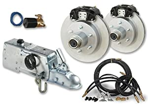 TowZone Complete Disc Brake Kit with Actuator from TowZone