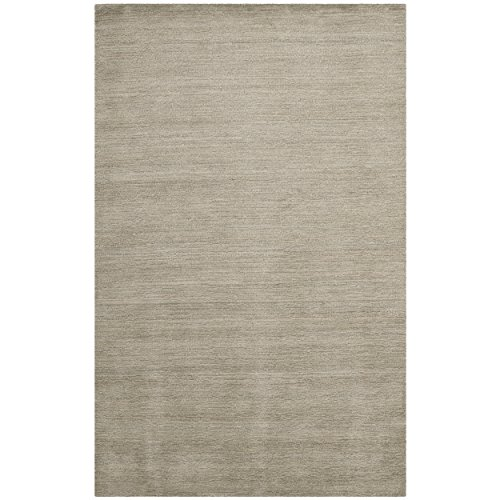 Safavieh Himalaya Collection HIM311D Handmade Grey Wool Area Rug, 8 feet 9 inches by 12 feet (8'9