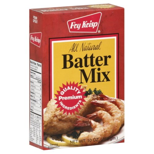 Fry Krisp Batter Mix, 10-oz Box, (Pack of 12)