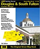 ADC Douglas & South Fulton Counties, Georgia Street Map Book (087530141X) by ADC the Map People