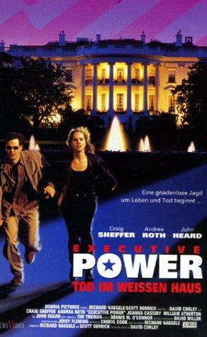 Executive Power - Tod im Weißen Haus [VHS]