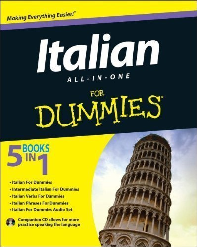 Italian All-in-One For Dummies (For Dummies (Language & Literature)) by Consumer Dummies Published by For Dummies 1st (first) edition (2013) Paperback (Italian All In One For Dummies compare prices)