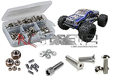 RCScrewZ DHK Hobby Maximus GP 1/8 Truggy Stainless Steel Screw Kit #dhk005