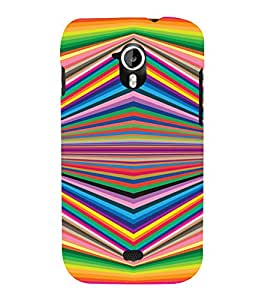 PrintVisa Illusion Art Pattern 3D Hard Polycarbonate Designer Back Case Cover for Micromax Canvas HD A116