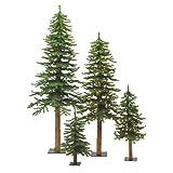 Vickerman B807305 Christmas Trees, 2' x 3' x 4', Green