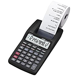 Casio HR-8TM Mini Portable Printing Calculator with 12-digit Extra Large Display Currency Conversion