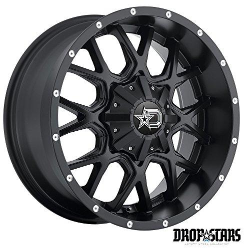 Dropstars 645B Wheel with Black Finish 18x9
