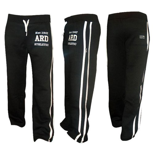 mens-joggers-cotton-fleece-jogging-trousers-pants-track-suit-bottom-mma-boxing-black-medium