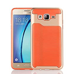 Galaxy On5 Case Galaxy G550 Case GreenElec Fit Prefect Shockproof Scratch-proof Impact Resistant Hybrid Dual Layer Armor Defender Protective Case Cover for Samsung Galaxy On5 G550 Aqua Orange