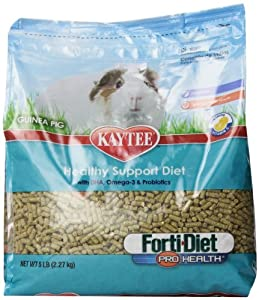 Kaytee Forti Diet Pro Health Food for Guinea Pig, 5-Pound