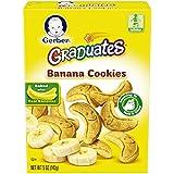 Gerber Graduates Cookies, Banana Cookies, 5-Ounce Boxes (Pack of 12)