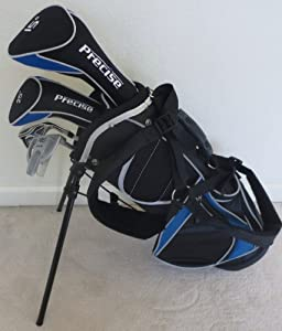 Junior Golf Club Set with Stand Bag for Kids Ages 3-6 Blue Color Premium Jr.... by Junior Golf Professional
