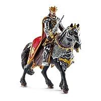 Schleich 70115 - Drachenritter König zu Pferd von Schleich