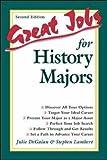 Great Jobs for History Majors (0658010611) by Lambert, Stephen
