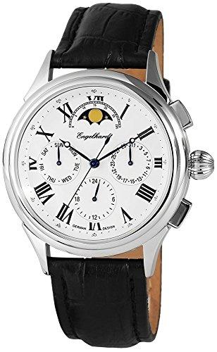Engelhardt Montre Homme avec Bracelet en Cuir Véritable montre bracelet 386722629003