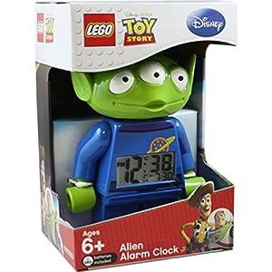 LEGO Toy Story Alien Minifigure Clock: Amazon.co.uk: Toys