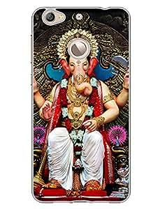 LalbaugchaÿRaja - Ganpati - Mumbaicha Raja - Hard Back Case Cover for LetV 1S - Superior Matte Finish - HD Printed Cases and Covers