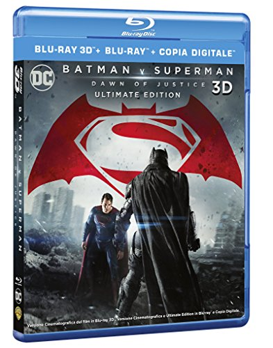 Batman V Superman - Dawn Of Justice (3D) (Blu-Ray 3D+Blu-Ray) [Italia] [Blu-ray]