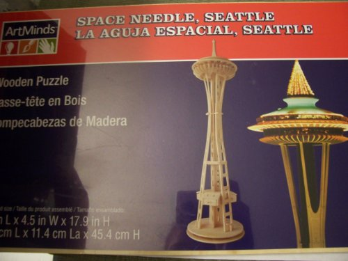 Michaels Art Mind Wooden Puzzle – Space Needle, Seattle (B005GM9HXI)