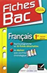 Fiches Bac Fran�ais 1re toutes s�ries...