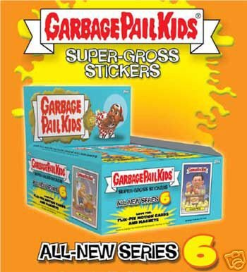 Topps Garbage Pail Kids Series 21 (All-New Series 6) Trading Card Stickers Box - Buy Topps Garbage Pail Kids Series 21 (All-New Series 6) Trading Card Stickers Box - Purchase Topps Garbage Pail Kids Series 21 (All-New Series 6) Trading Card Stickers Box (Garbage Pail Kids, Toys & Games,Categories,Games,Card Games,Collectible Trading Card Games)