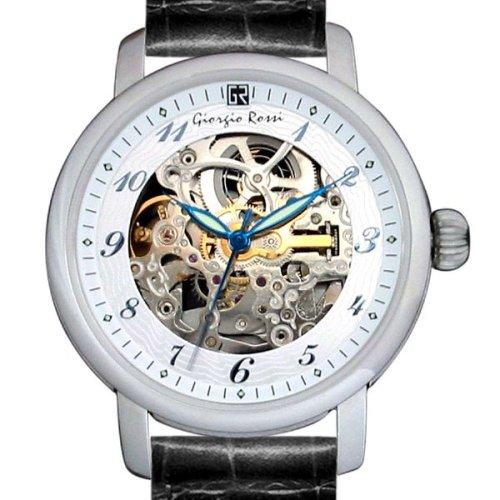 [ジョルジオ ロッシ]Giorgio Rossi 腕時計 GR0001-SI スケルトン(裏、表) メンズ [正規輸入品]