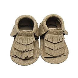 Baby Tassels Soft Sole Leather Infant Toddler Prewalker Shoes Sandal Toddler Summer Shoes