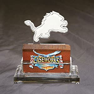 NFL Detroit Lions Business Card Holder in Gift Box by Caseworks