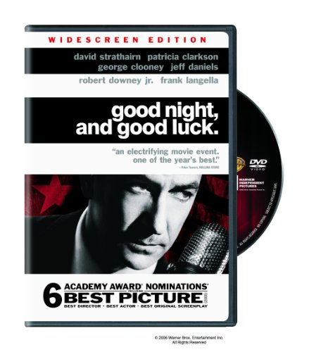 Cover art for  Good Night, and Good Luck (Widescreen Edition)